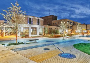 Western Technical College - Cleary Courtyard - La Crosse, Wisconsin