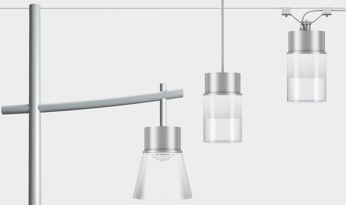 Lanova - Catenary, pole, and stem area lighting
