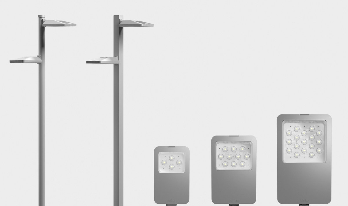 Ouray™ - Roadway, area, and canopy lighting family with a variety of distributions