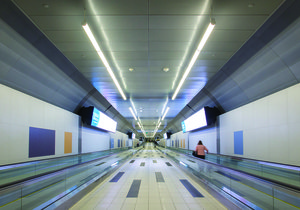 Billy Bishop Airport Tunnel - Toronto Island, Canada